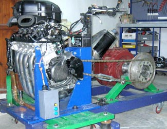 Sp3 Engine Bed Test Dynamometer Sportdevices Chassis